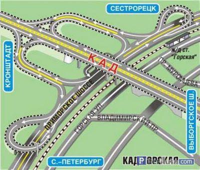 Транспортная развязка ЗСД «